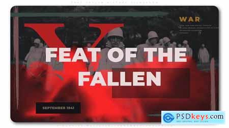 VideoHive Feat Fallen History Slideshow 24913472
