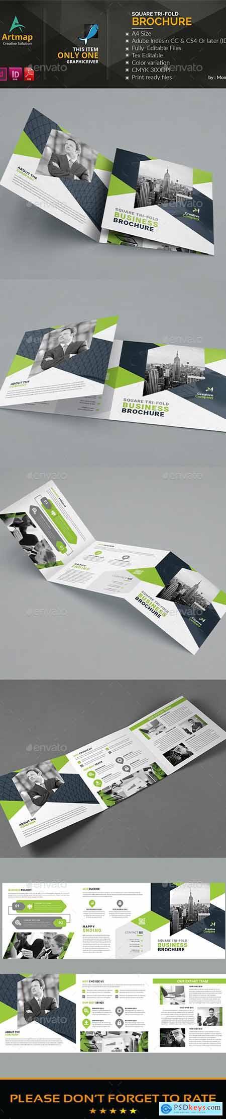 Square Ti-fold Brochure 24801013