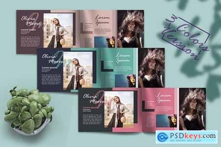 A5 Fashion & Photography - Brochure Template