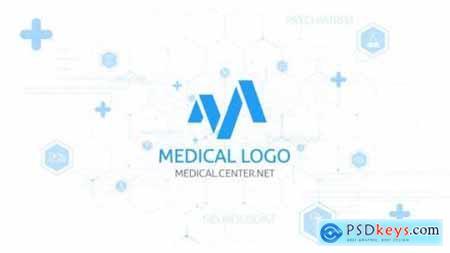 Videohive Medical Logo Reveal 24907946
