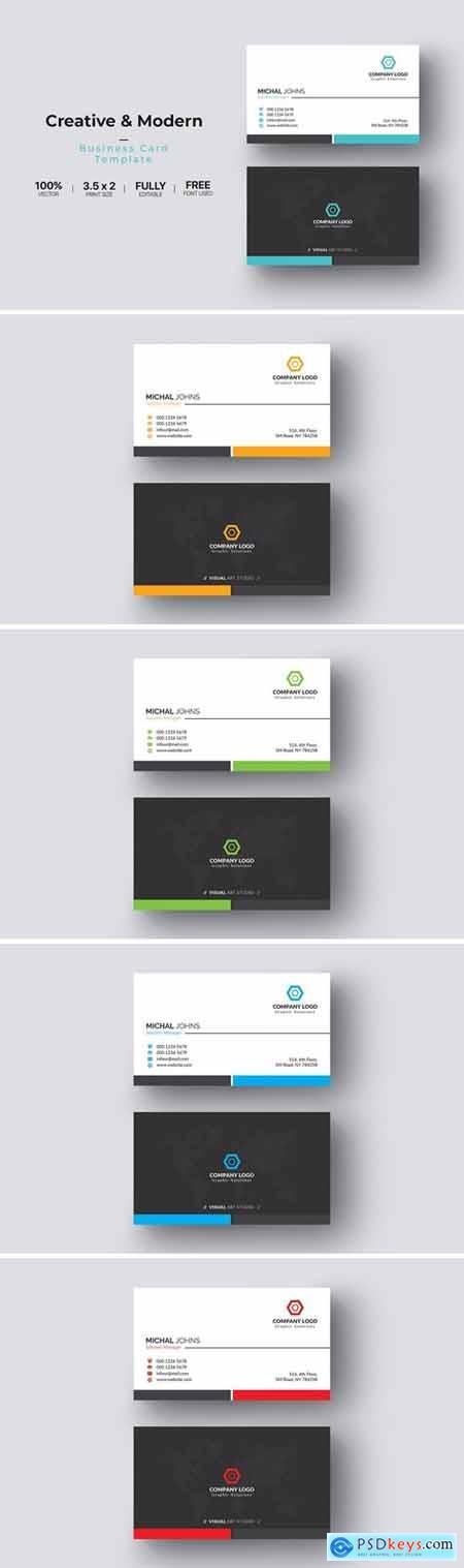 Business Card DU5AG3Y