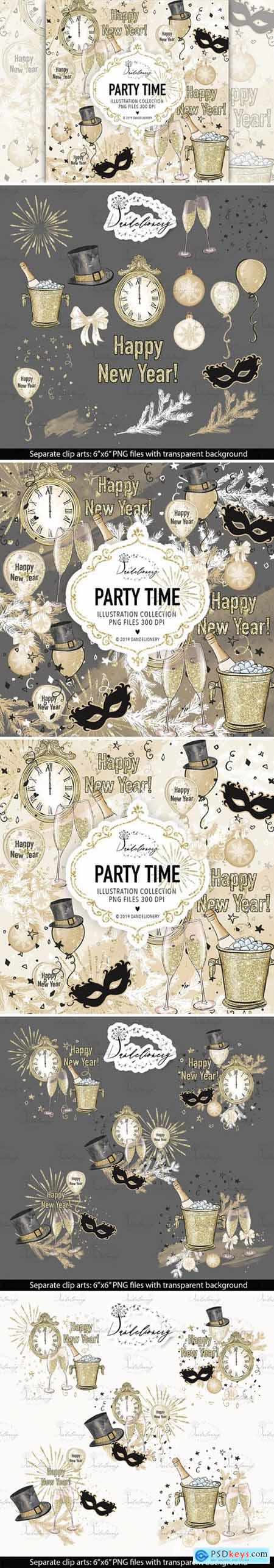 Party Time design
