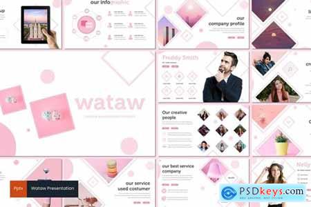Wataw Powerpoint, Keynote and Google Slides Templates