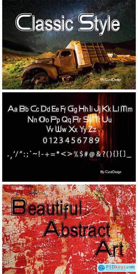Melamphitta Font