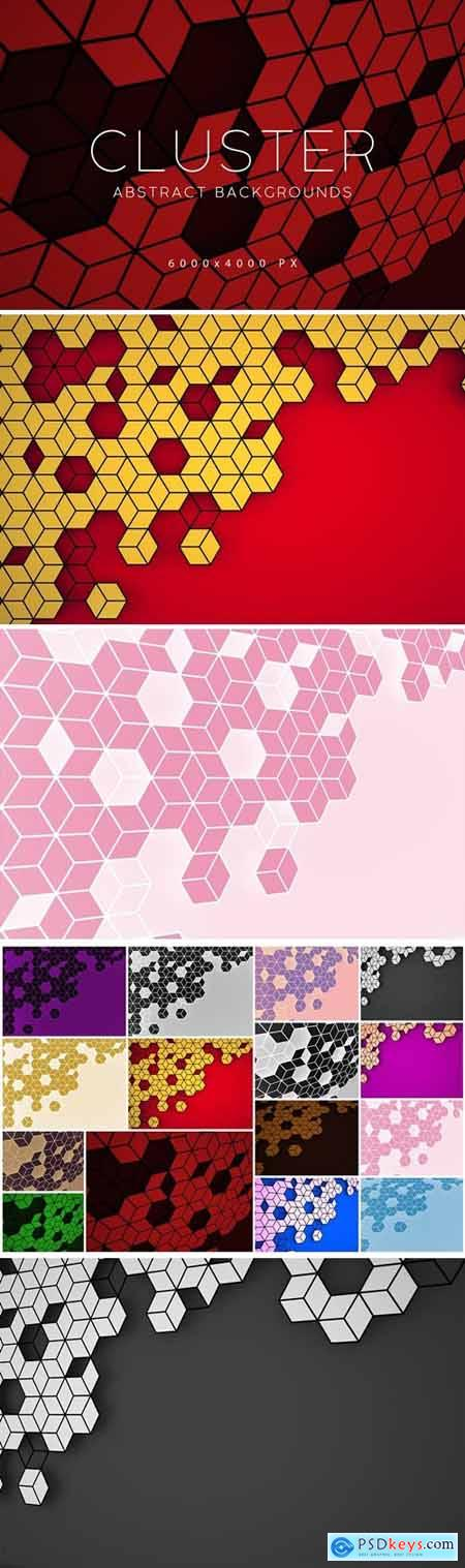 Rhombus Cluster Backgrounds