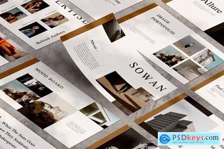 Sowan Powerpoint, Keynote and Google Slides Templates