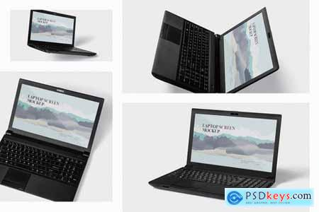 Laptop Screen Mockup - Windows Edition