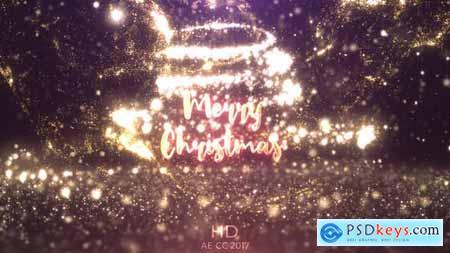 Videohive Gold Christmas Logo 24899802