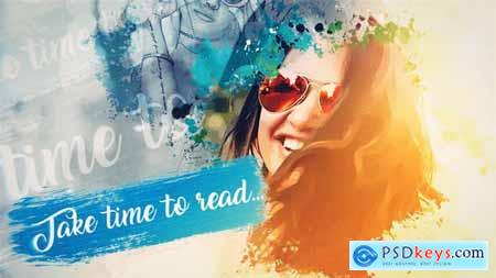 Videohive Water Color Promo 24780150