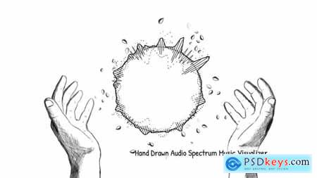 Videohive Hand Drawn Audio Spectrum Music Visualizer 15288957