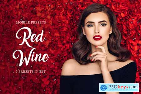 Red Wine Mobile Presets 4235301