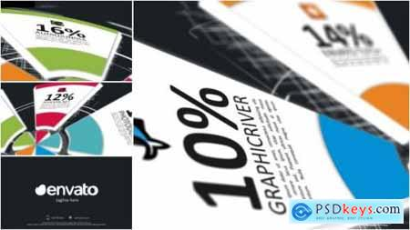 Videohive Pie Charts Infographic Opener 8142352