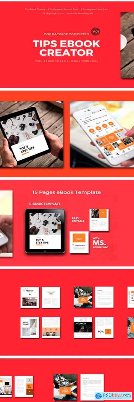Tips Completed EBook Creator Template 1949098