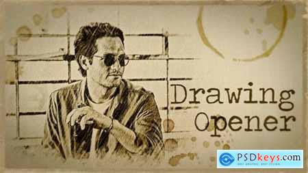 Videohive Drawing Opener 21526378