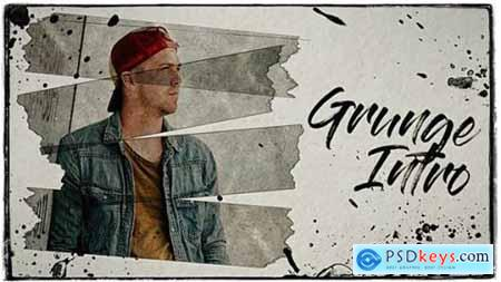 Videohive Grunge Intro 21539168