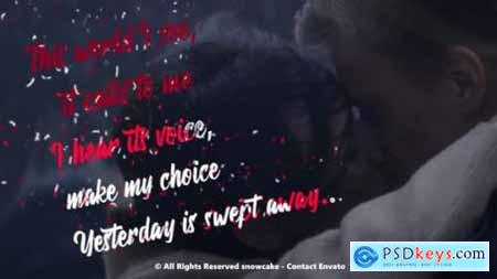 Videohive Lyrics Template Liquid Style 24935703