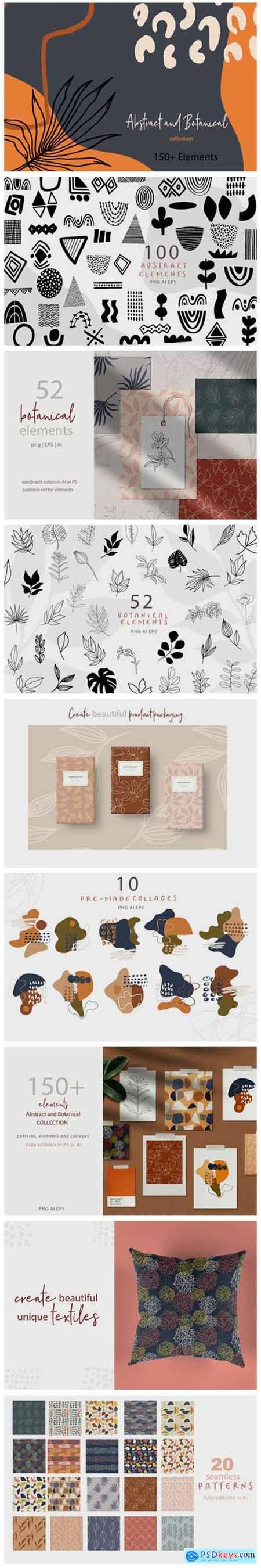 DIY Abstract & Botanical Collection 1953407