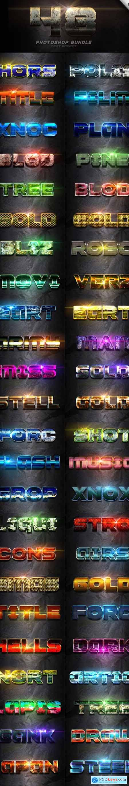 48 Text Effect Bundle Vol 4 24687032