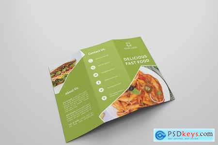 6 Fast Food Tri Fold Bochures 4235346