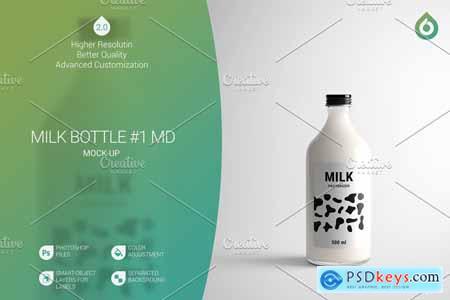 Milk Bottle MD Mock-Up #1 [V2.0] 4187988