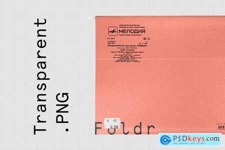 Paper File Folder Mockup 4242873