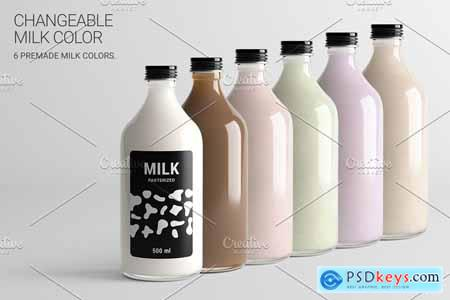 Milk Bottle MD Mock-Up #1 [V2.0] 4187988