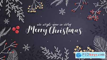 VideoHive Christmas Greeting Card 21040937
