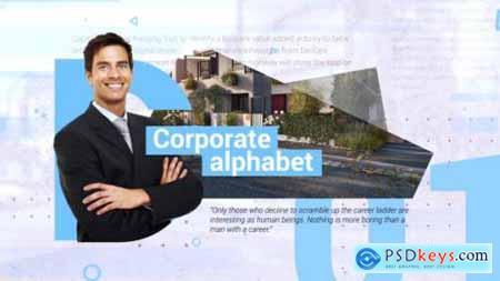 Videohive Corporate Alphabet Slideshow 20318932