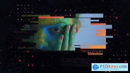 Videohive History Grungy Slideshow 21153656