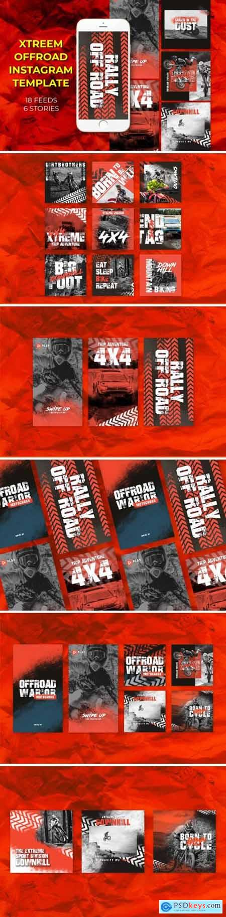 Xtreem Offroad Instagram Templates 1948929