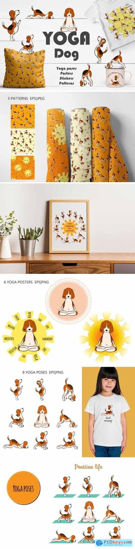 Yoga Dog Collection 1948664