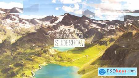 Videohive Art Parallax Slideshow 16607109