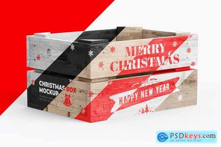 Christmas Box Mockup 3 PSD 4212627