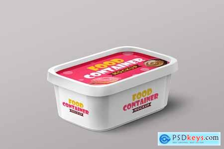Plastic Food Container Mockups 4200027