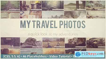 Videohive Flipping Pictures Slideshow 6907570