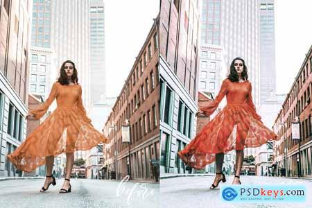 Orange Vibes.Desktop & Mobile Preset 3741299