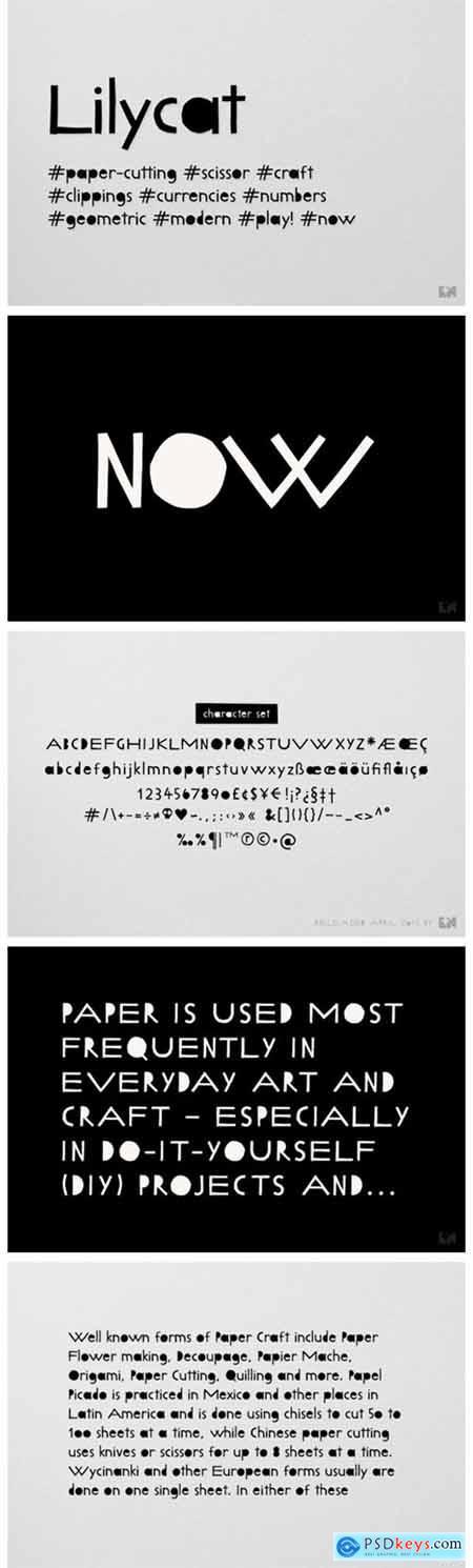 Lilycat Font