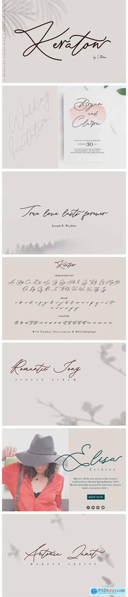Keraton Font