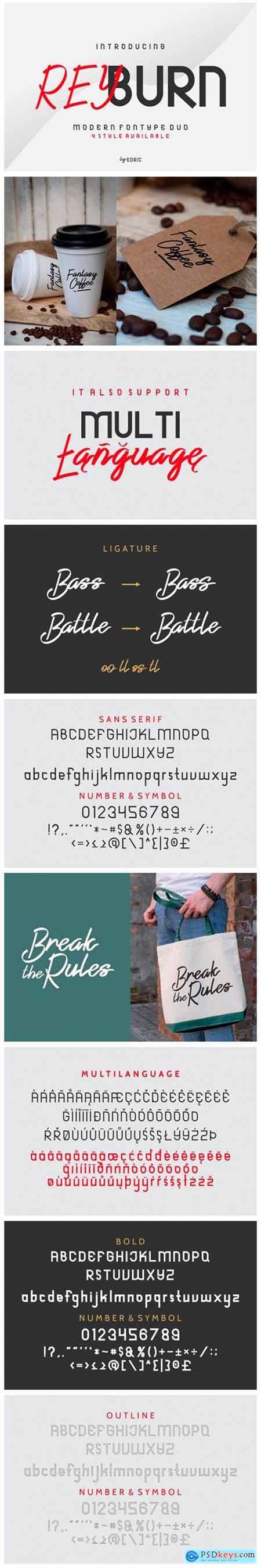 Reyburn Font