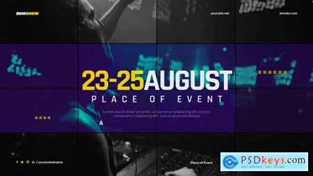 VideoHive Music Event Promo Slides 24960803