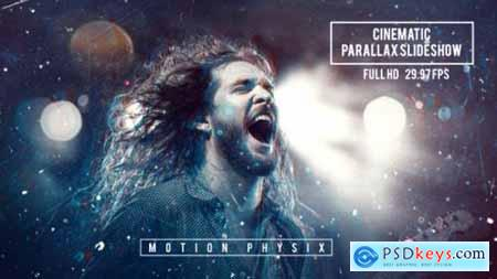 Videohive Cinematic Parallax Slideshow 20795259