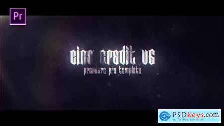 Videohive Cine Credit V.6 24957251