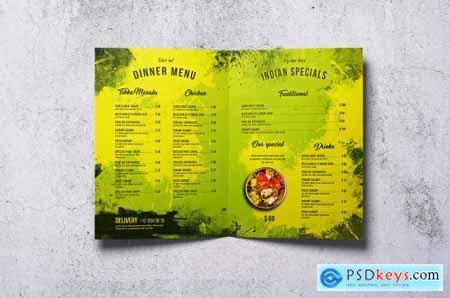 Different Countries Bifold Food Menu Bundle