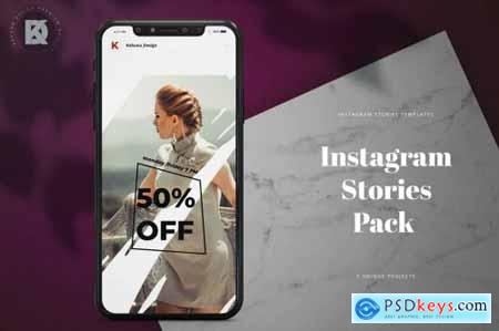 Fashion Feminine Instagram Stories Pack