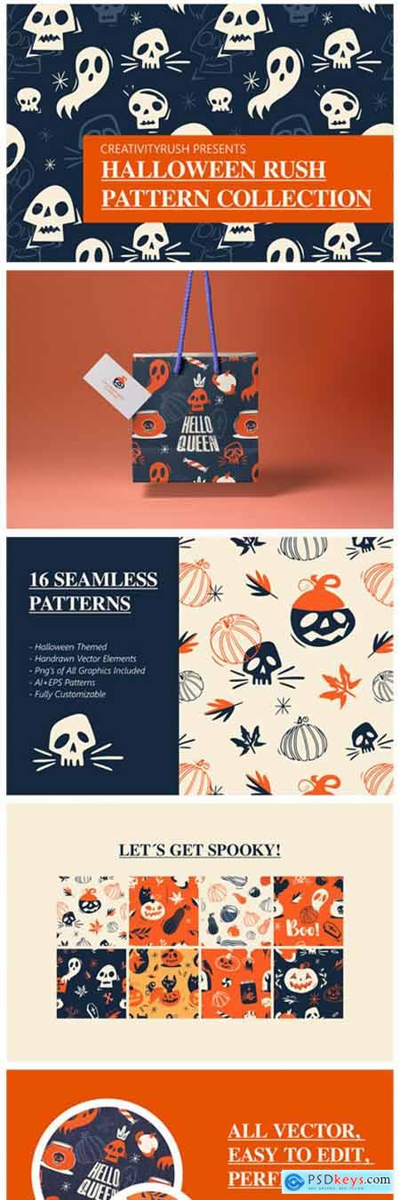 Halloween Rush Pattern Collection 1901715