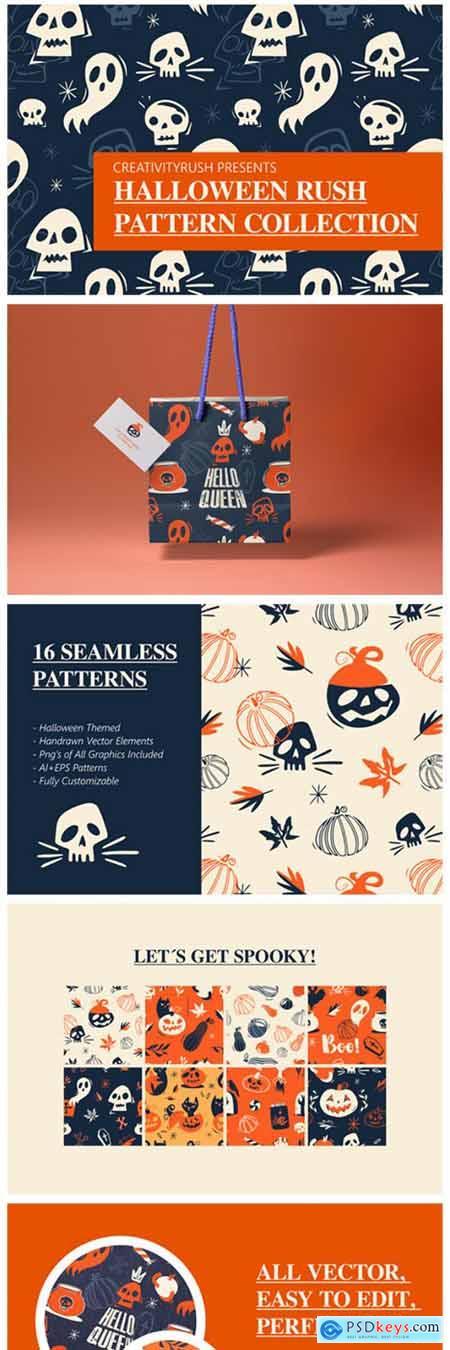 Halloween Rush Pattern Collection 1901715
