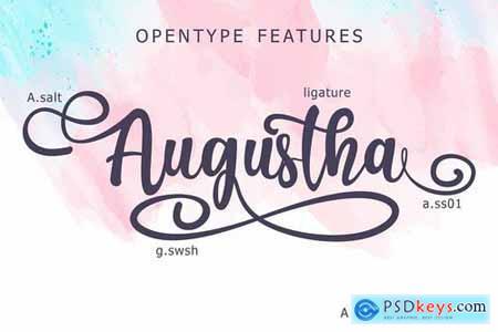 Augustha - Lovely Script 4013566