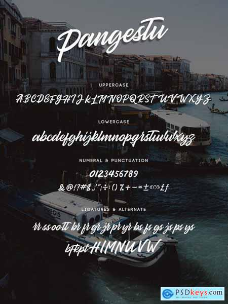 Pangestu - Display Script