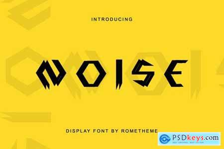Noise - Display Font DR