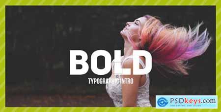 VideoHive Bold Typo Typographic Intro 19559462